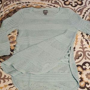 Light aqua sweater